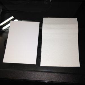 詰まっていた用紙