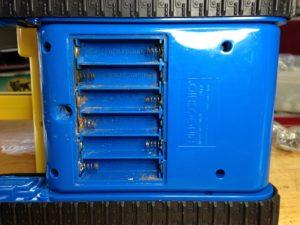 電池ケース修理前