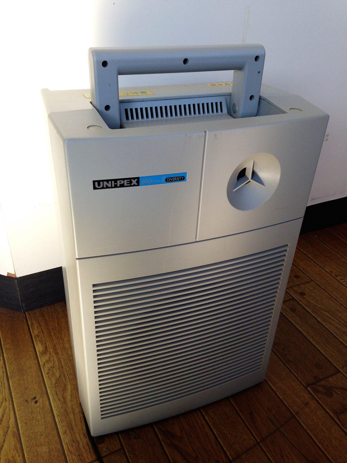 修理例、UNI-PEX ポータブルワイヤレスアンプ WA-852Dの場合