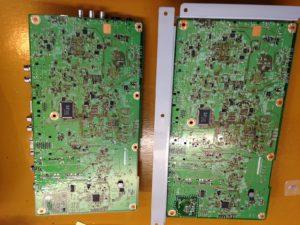 L32-HV02 メイン基板裏