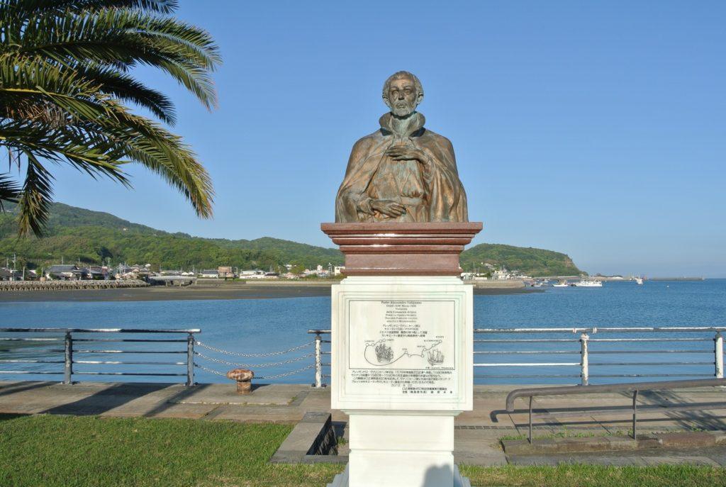 ヴァリニャーノ神父の胸像