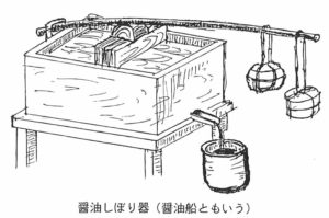 醤油しぼり器(醤油船)