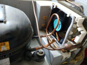 冷蔵庫圧縮機ファンモータ